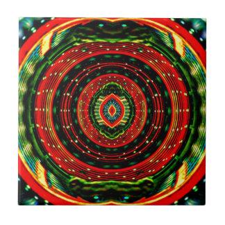 Psychedelic Rasta Tile