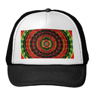 Psychedelic Rasta Trucker Hat