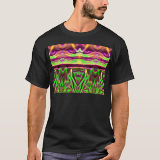 Psychedelic Rave Print T-Shirt