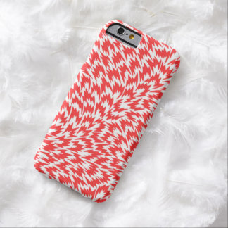 Psychedelic Red Lightning Bolts iPhone 6 Case