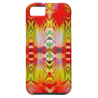 Psychedelic Red Yellow iPhone 5 Cover