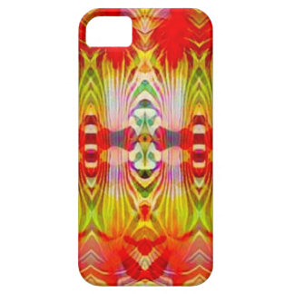 Psychedelic Red Yellow iPhone 5 Covers
