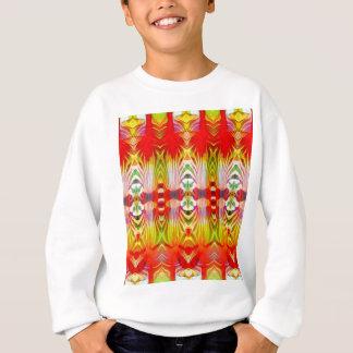 Psychedelic Red Yellow Sweatshirt