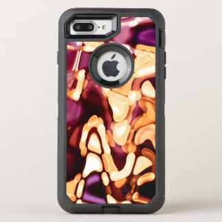 Psychedelic reflections OtterBox defender iPhone 7 plus case