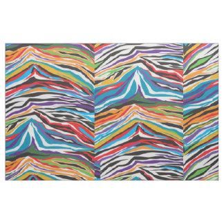 Psychedelic Retro Fabric