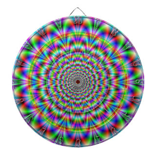 Psychedelic Rosette Dartboard
