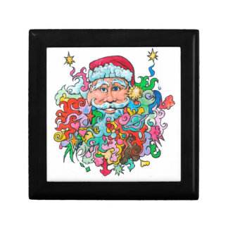 Psychedelic Santa Gift Box