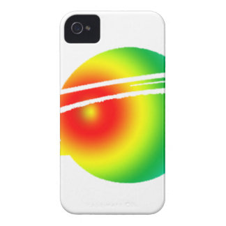 Psychedelic Saturn iPhone 4 Case-Mate Cases