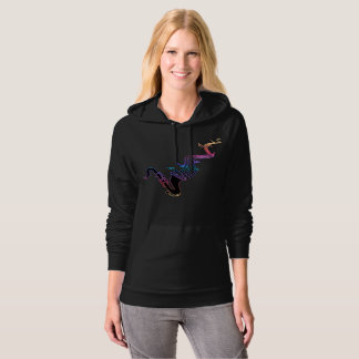 Psychedelic Saxophone and Music Notes Hoodie
