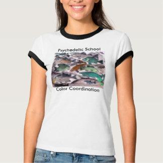 Psychedelic School Color Coordinnation T-Shirt