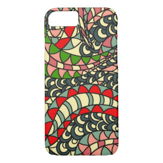 Psychedelic Serpent iPhone 7 Case