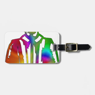 Psychedelic Shakespeare Luggage Tag