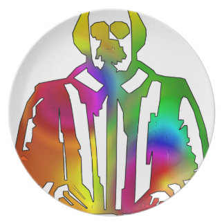 Psychedelic Shakespeare Plate