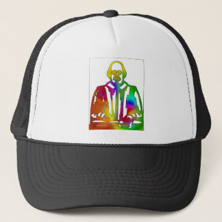 Psychedelic Shakespeare Trucker Hat