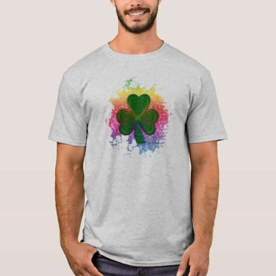 Psychedelic Shamrock T-Shirt
