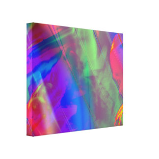 Psychedelic Singer Canvas Print