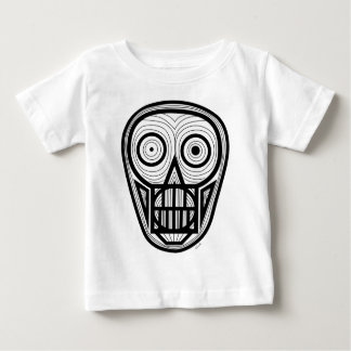 Psychedelic Skull Baby T-Shirt