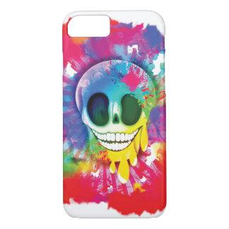 Psychedelic Skull Design Case-Mate iPhone Case