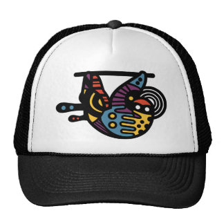 Psychedelic Sloth Trucker Hat