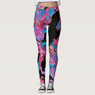 Psychedelic Smile Leggings