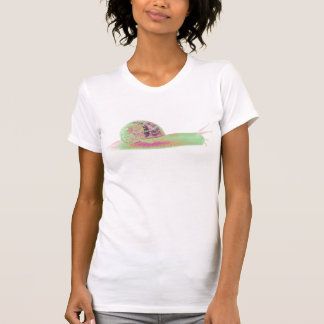 Psychedelic Snail T Shirt
