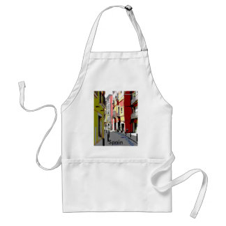 psychedelic Spain street photography Standard Apron