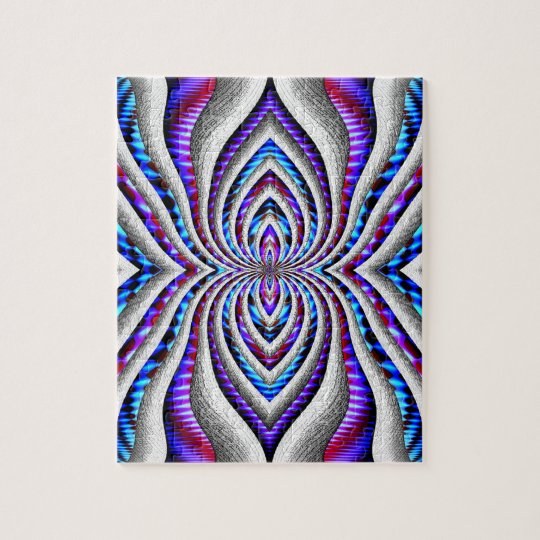 Psychedelic Spider... Jigsaw Puzzle
