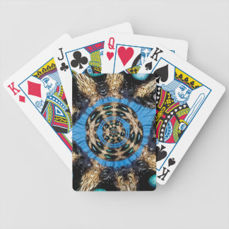 Psychedelic Spider Portal Bicycle Playing Cards