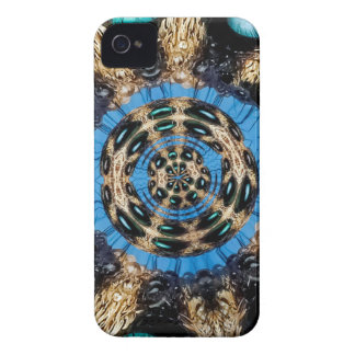 Psychedelic Spider Portal iPhone 4 Case-Mate Case