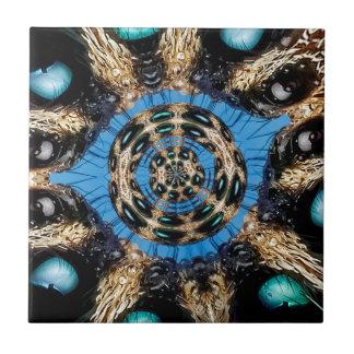 Psychedelic Spider Portal Tile