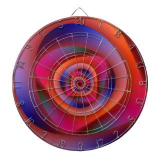Psychedelic Spiral Labyrinth Dartboard