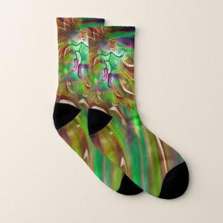 Psychedelic Spring Sensation Socks