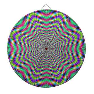 Psychedelic Stars in Stars  Dartboard