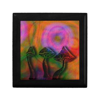 Psychedelic stash jewelry box