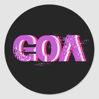 Psychedelic Sticker Goa 1
