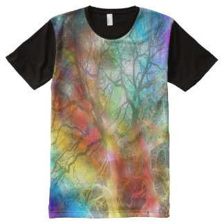 Psychedelic storm All-Over-Print T-Shirt
