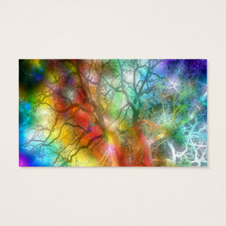 Psychedelic storm business card