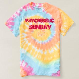 Psychedelic Sunday Tie Dye Shirt