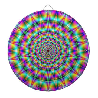 Psychedelic Supernova Dartboard