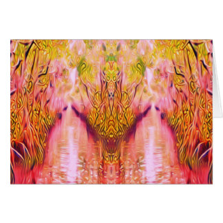 Psychedelic Swamp Card