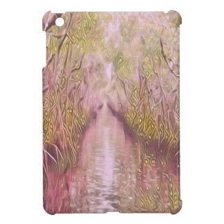 Psychedelic Swamp iPad Mini Covers
