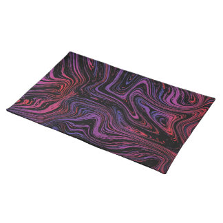 Psychedelic Swirl Placemat