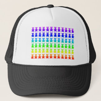 Psychedelic teddy bears. trucker hat
