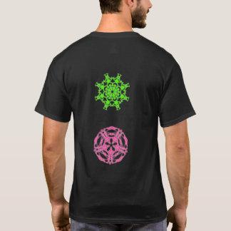 Psychedelic tee-shirt fractal kaleidoscope T-Shirt
