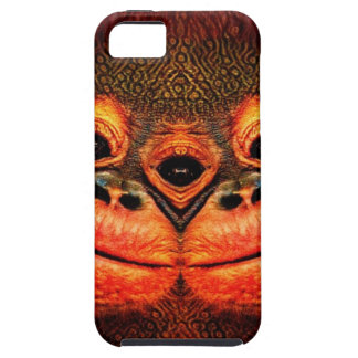 Psychedelic Three Eyed Monkey iPhone 5 Cover