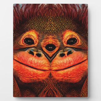 Psychedelic Three Eyed Monkey Plaque