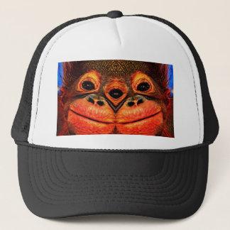 Psychedelic Three Eyed Monkey Trucker Hat