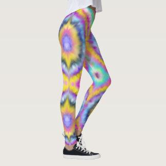 Psychedelic Tie Dye Leggings