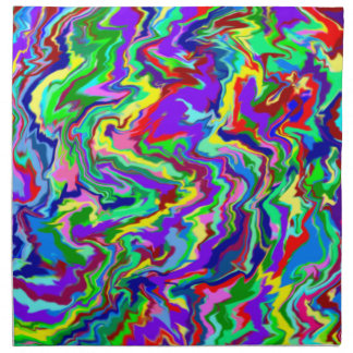 Psychedelic Tie Dye Napkins