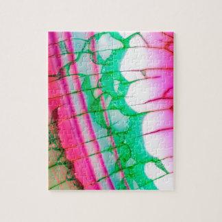 Psychedelic Tie Dye Quartz Jigsaw Puzzle